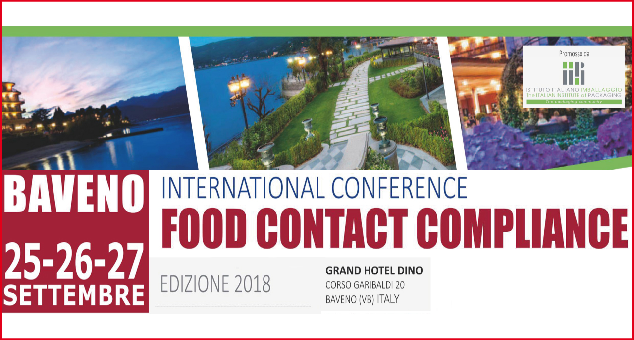 25-26-27 September – International Conference FOOD CONTACT COMPLIANCE
