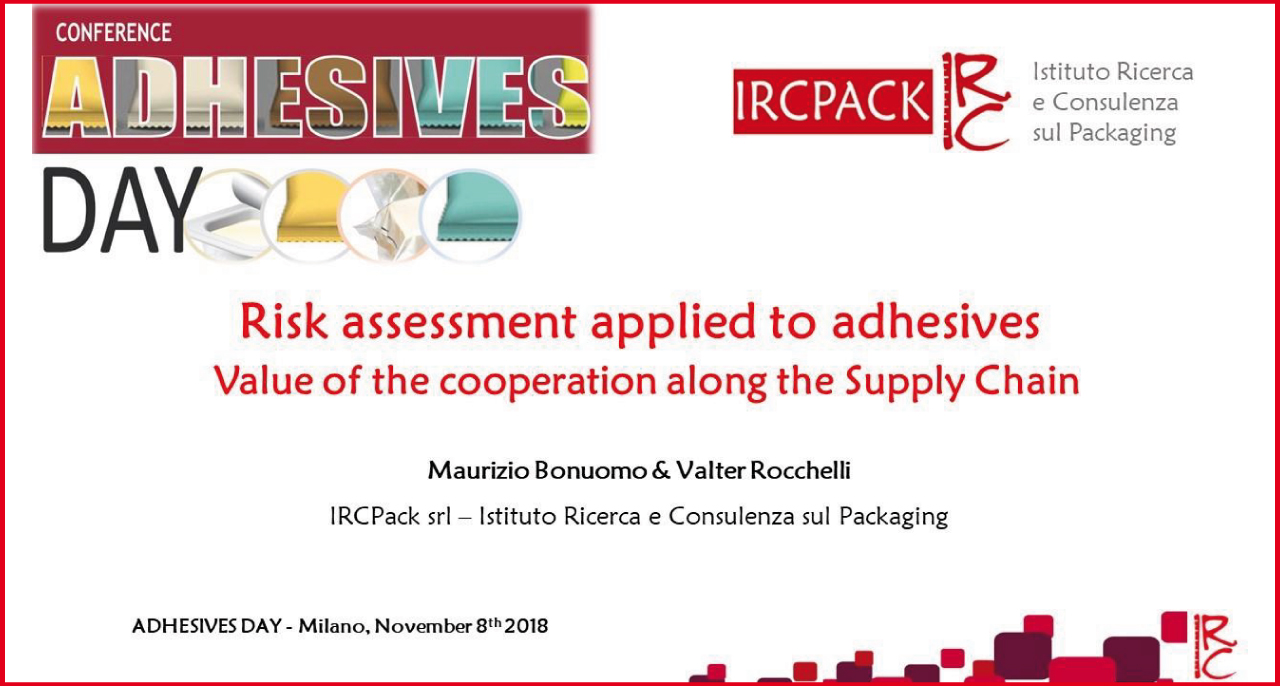 November 8th – Conference ADHESIVES DAY