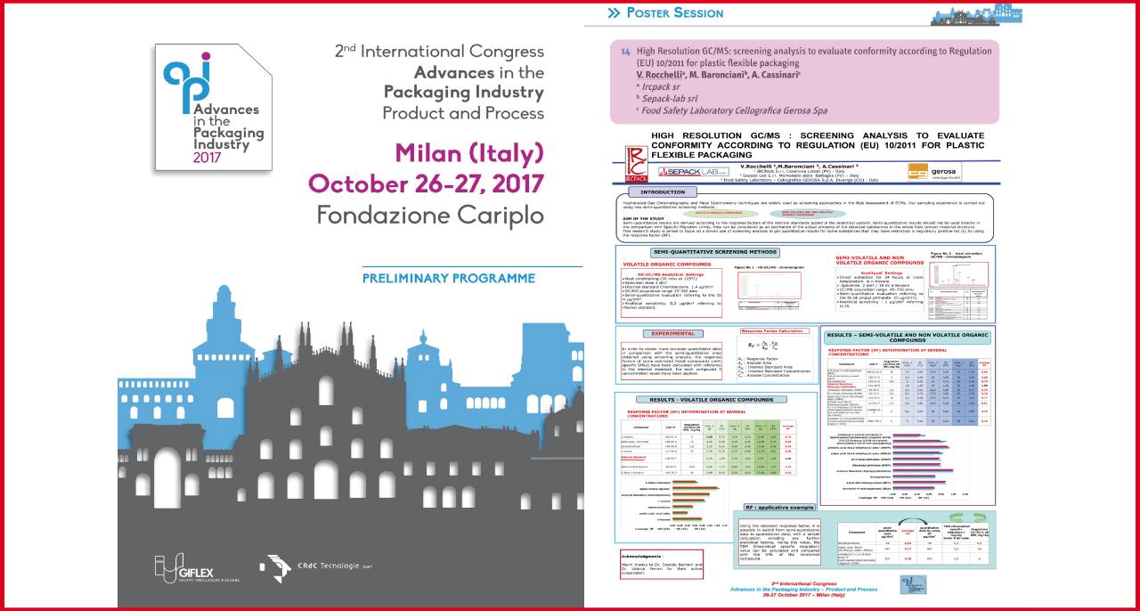 27-28 ottobre – 2° Congresso Internazionale API 2017