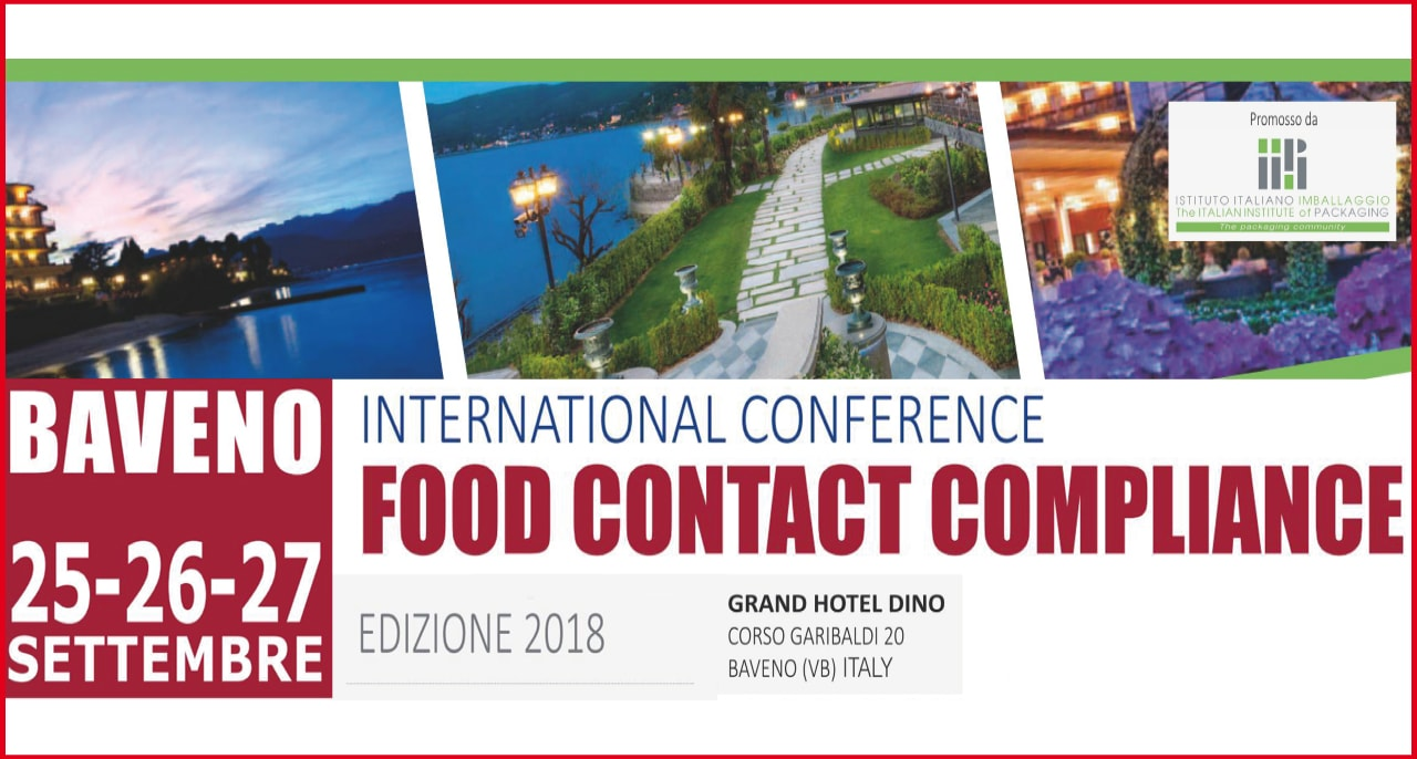 25-26-27 settembre – International Conference FOOD CONTACT COMPLIANCE